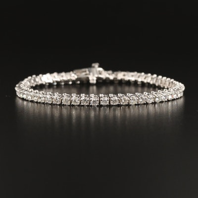 14K 5.03 CTW Diamond Tennis Bracelet