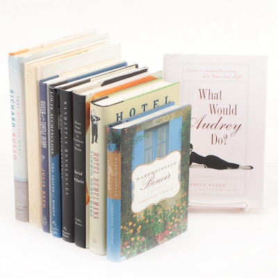 "First Edition Fiction and Nonfiction Including Signed ""What Would Audrey Do?"""