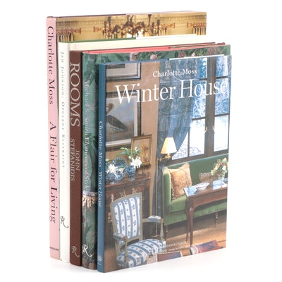 "Interior Design Books Including ""Rooms: Design and Decoration"""