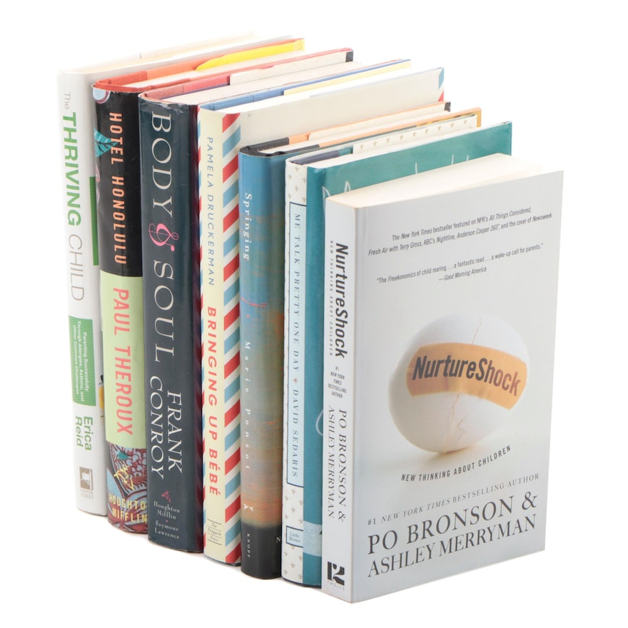 """Fiction and Nonfiction Books Including """"Hotel Honolulu"""" by Paul Theroux, 2001"""