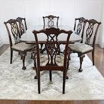 "Century Furniture ""Claridge Collection"" Seven-Piece Dining Set"