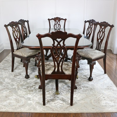 "Century Furniture ""Claridge Collection"" Seven-Piece Dining Set"