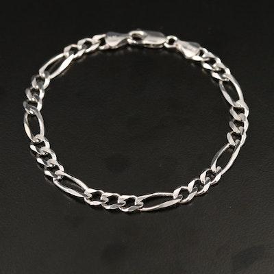14K Figaro Link Bracelet