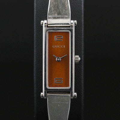 Gucci 1500L Stainless Steel Quartz Wristwatch