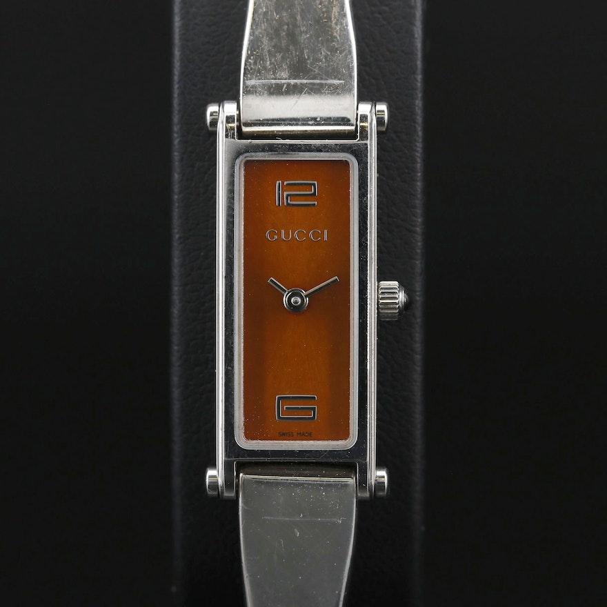 Gucci 1500L Stainless Steel Quartz Wristwatch