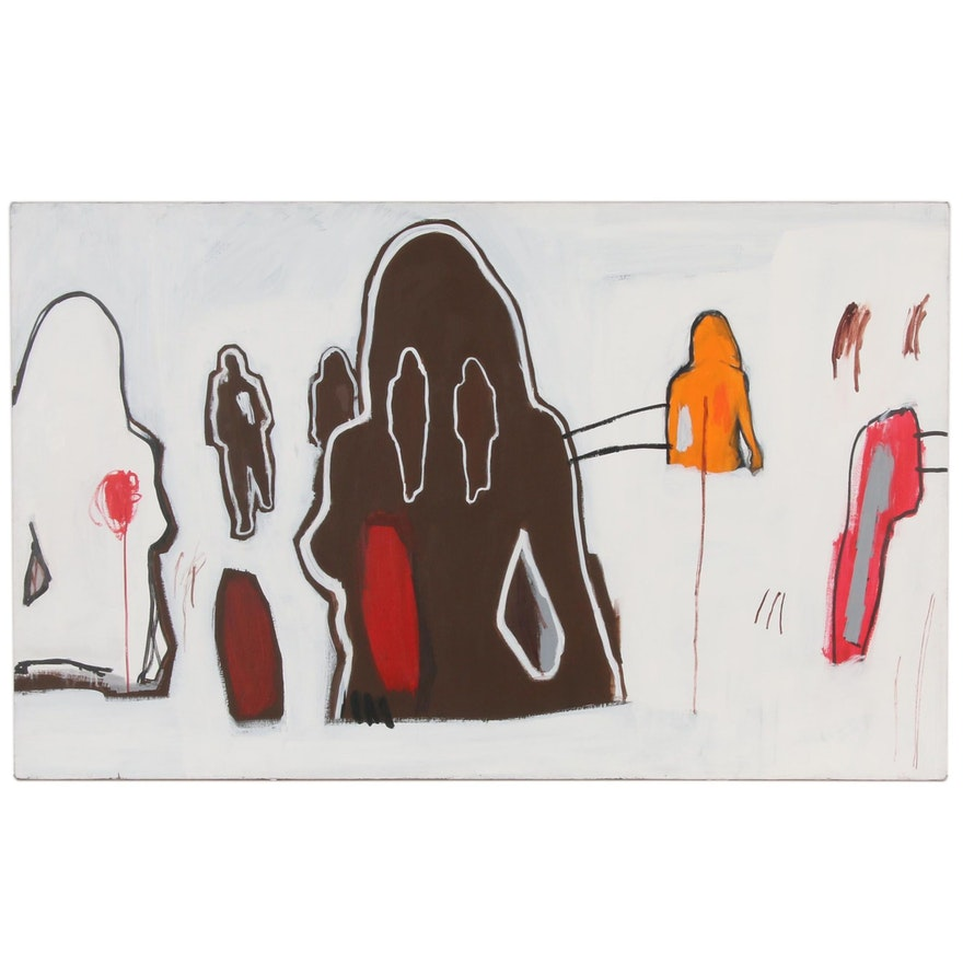 Matthew Heller Abstract Oil Painting, 2006