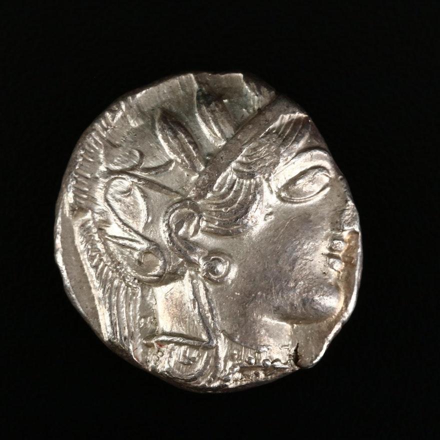 Ancient Attica, Athens AR Tetradrachm, ca. 420 BC