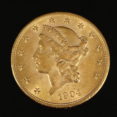 1904 Liberty $20 Gold Double Eagle