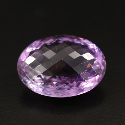 Loose 41.85 CT Amethyst Oval Faceted