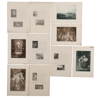 Book Segment with Photogravure and Halftone Plates, 20th Century