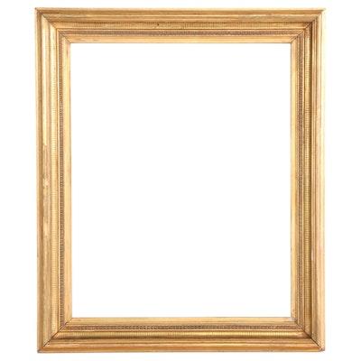 Gilt Wood Rectangular Frame