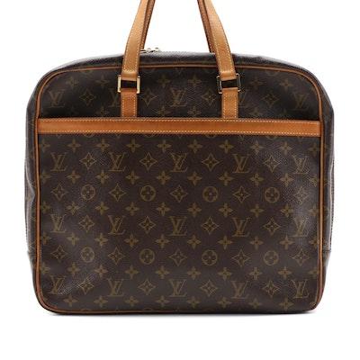 Louis Vuitton Porte Documents Pegase Monogram Canvas and Leather Briefcase