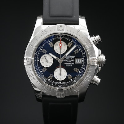 Breitling Avenger Chronograph Stainless Steel Automatic Wristwatch