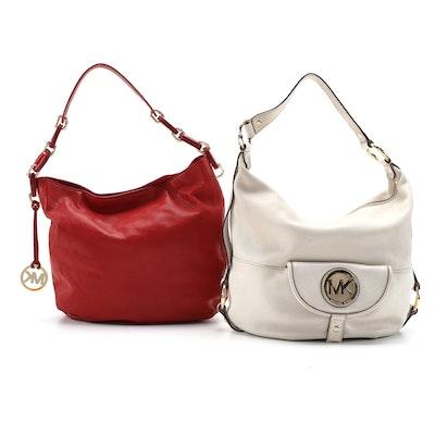 MICHAEL Michael Kors Leather Hobo Bags