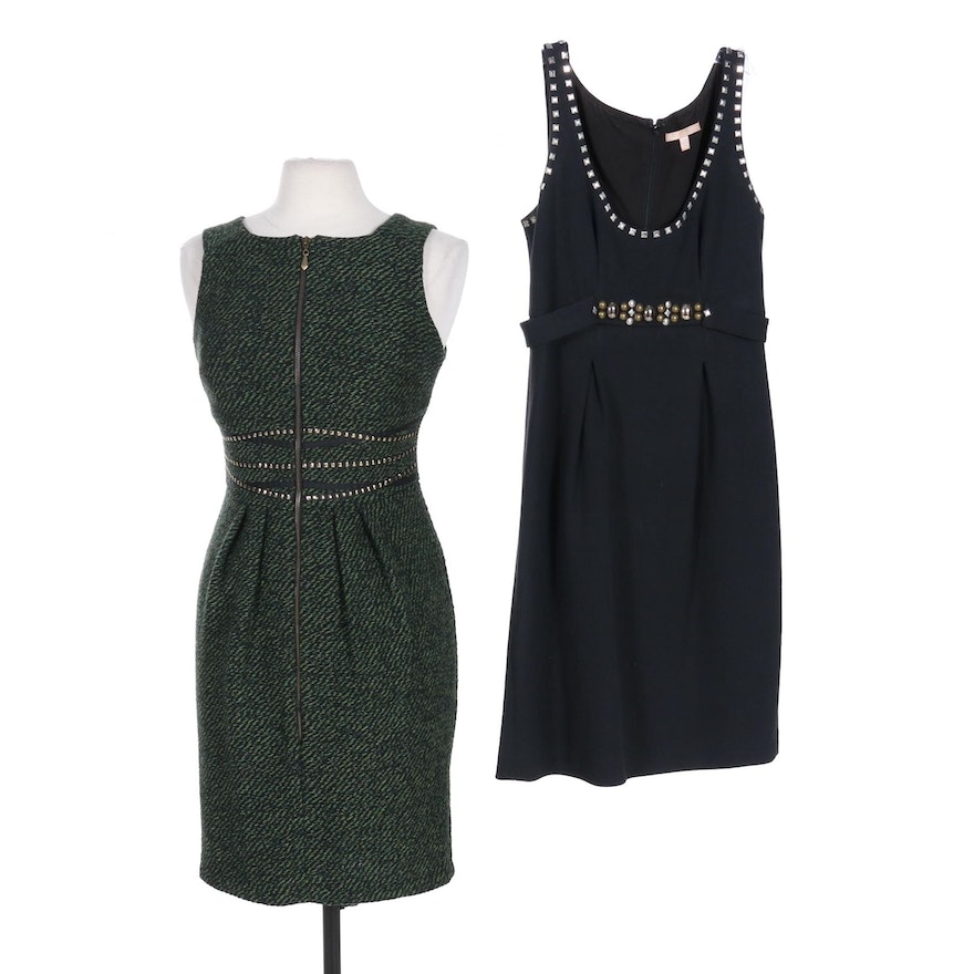 Rebecca Taylor and Eva Franco Stud Detail Sleeveless Dresses