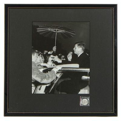 Sam Weinstein Silver Gelatin of Senator John F. Kennedy