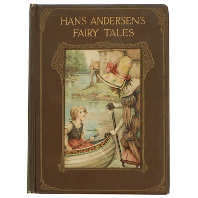 "Frank C. Papé Illustrated ""Fairy Tales"" by Hans Christian Andersen, circa 1910"