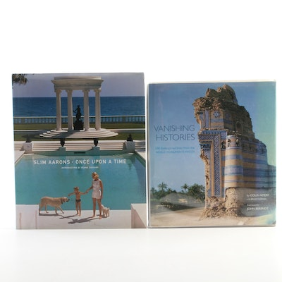 "First Editions ""Vanishing Histories"" and ""Slim Aarons: Once Upon a Time"
