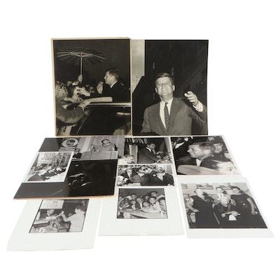Sam Weinstein John F. Kennedy Presidential Campaign Silver Gelatin Photographs