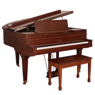 Brinkerhoff Mahogany Grand Piano