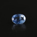 Loose 1.03 CT Oval Faceted Sapphire