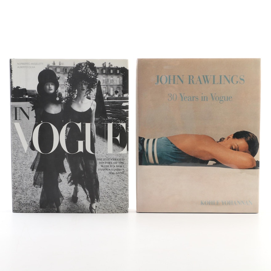 "First Editions ""John Rawlings: 30 Years in Vogue"" and ""In Vogue"""