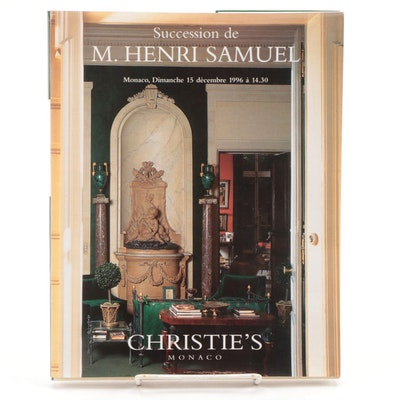 """Succession de M. Henri Samuel"" Christie's Catalog, 1996"