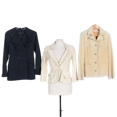 Ann Taylor, Shin Choi, and Zenobia Jackets Including Leather