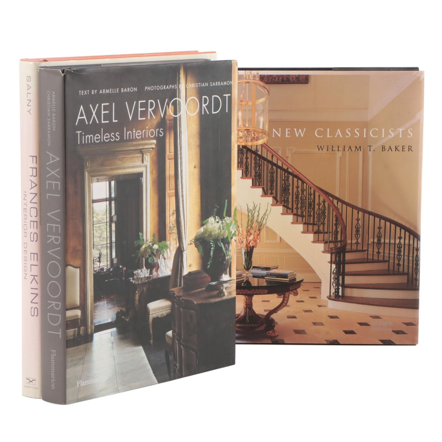 """""""Axel Vervoordt: Timeless Interiors"""" and Other Design Books"""