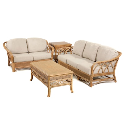 Acacia Home & Garden Bent Wood Patio Furniture, Late 20th Century