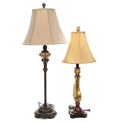 Metal and Composite Table Lamps
