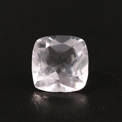 Loose 6.82 CT Square Amethyst