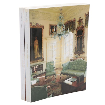 Christie's The Dumfries House Two-Volume Catalog Set, 2007
