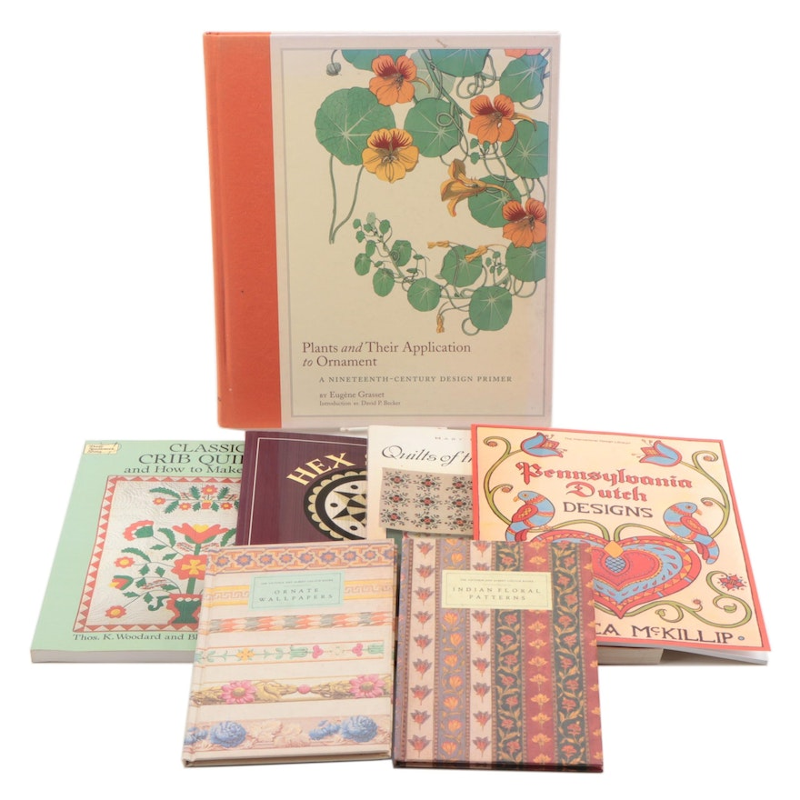 """""""Quilts of the Oregon Trail"""" and Other Quilt and Pattern Books"""