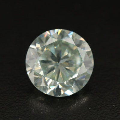 Loose 7.97 CT Round Faceted Laboratory Grown Moissanite