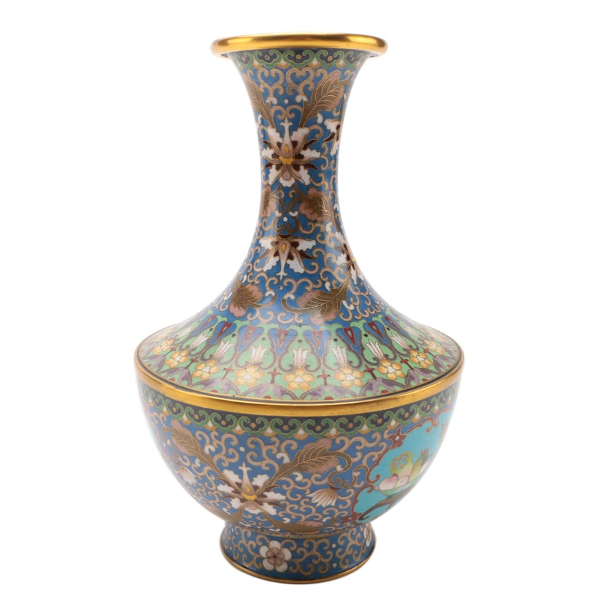Chinese Cloisonné Vase