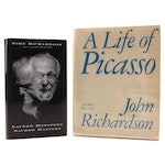 """First Editions """"Sacred Monsters, Sacred Masters"""" with """"A Life of Picasso"""""""