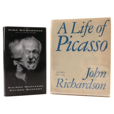 "First Editions ""Sacred Monsters, Sacred Masters"" with ""A Life of Picasso"""