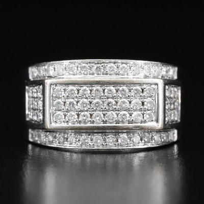 10K 1.05 CTW Diamond Ring