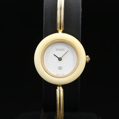 Gucci Bangle Bracelet Quartz Wristwatch