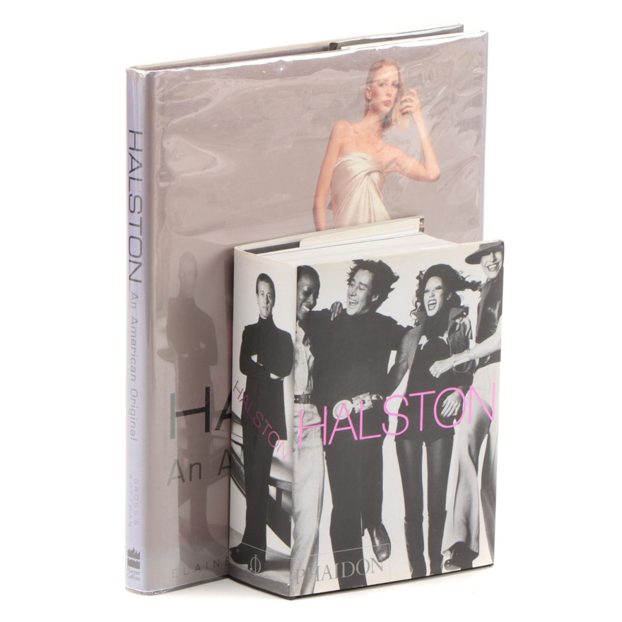 """First Editions """"Halston"""" and """"Halston: An American Original"""""""