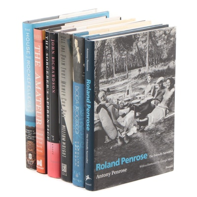 "First Edition ""Roland Penrose: The Friendly Surrealist"" with Other Biographies"
