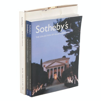 Sotheby's Catalogs Including The Bill Blass Collection, 2003