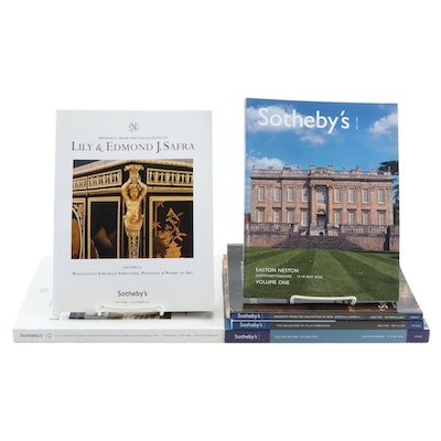 Sotheby's Catalogs Including Easton Neston and Lily and Edmond J. Safra
