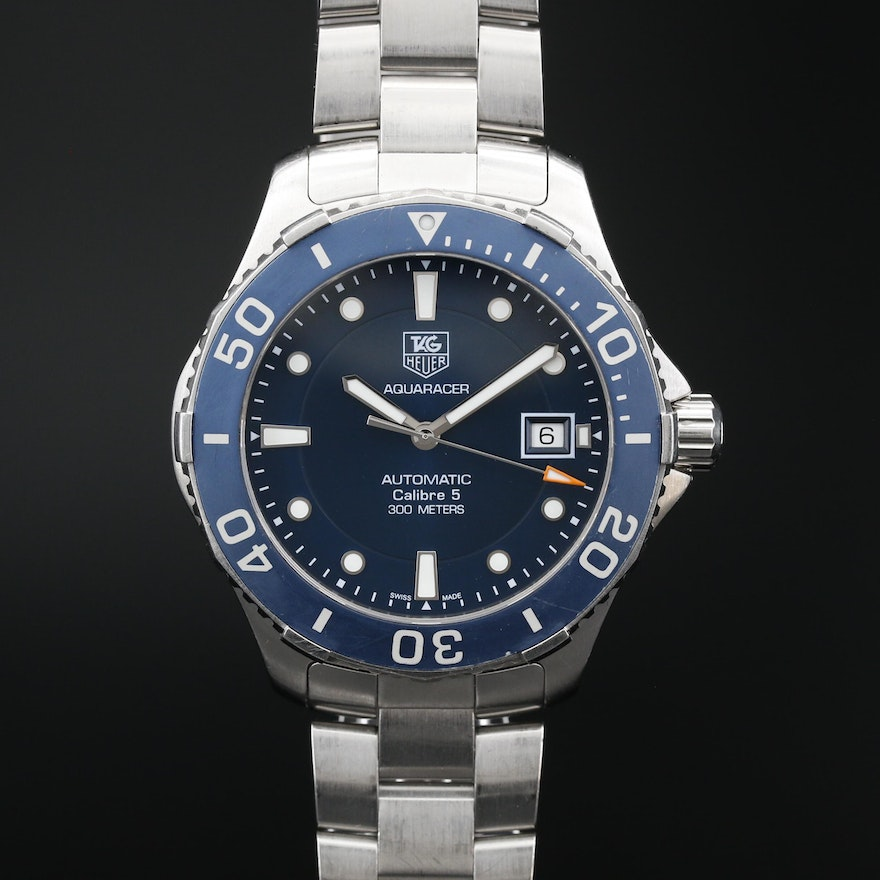 TAG Heuer Aquaracer 300M Automatic Stainless Steel Wristwatch