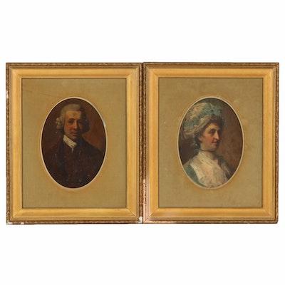 Colonial-Era Portraits of a Couple