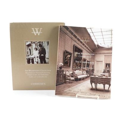 """Christie's """"The Wildenstein Collection"""" Catalogs, 2005"""