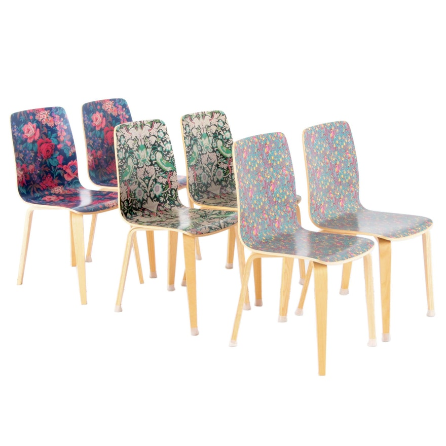 "Decorative Laminate ""Liberty"" Tamsin Dining Chairs for Anthropologie"