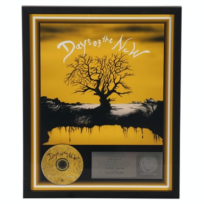 Days of the New Commemorate RIAA Certified Platinum Sales Award