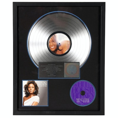 "Whitney Houston ""I Look to You"" Publicity Platinum Award"
